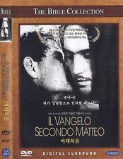 IL VANGELO SECONDO MATTEO (1964) Pier Paolo Pasolini DVD (Italian Language)