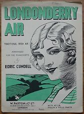 Londonderry Air –Traditional Irish Air arranged by Edric Cundell – Pub.1950