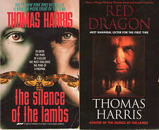 Complete Set Series - Lot of 4 Hannibal Lecter Books Thomas Harris Silence Lambs