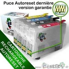 RECHARGEABLE-  Cartouche Rechargeable pour Epson T1631 à T1634 - Pack X4 Vides G