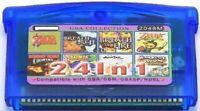 24 in 1 (a) Game Boy advance GBA multi cart - Classic 90s games