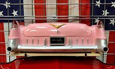 1955 Cadillac Fleetwood Elvis Presley Rear Storage Box, Pink with WORKING LIGHTS
