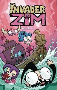 Invader Zim Volume 4 GN Jhonen Vasquez Aaron Alexovich JTHM Johnny Squee New NM