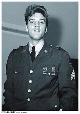 Poster ELVIS PRESLEY - Uniform Germany 1960  ca60x85cm NEU 15339