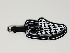 Vans Family Exclusive Luggage Tag Classic Slip-On Black/White Checker Shoe