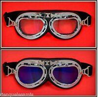 Pack 2 Paar Brille Sonne [T-013 + T-012] Motorrad Solex Biker Ski Snowboard