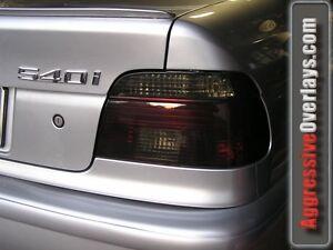 BMW 540i 528i M5 Smoke Tail light & Headlight Overlay tint vinyl film E39 97-03