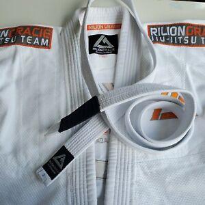 Rilion Gracie Elite Team Brazilian Jiu Jitzu Academy Top FUJI Martial Arts W1
