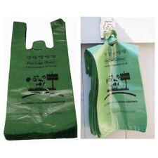 NUOVO 1000 Poo Borse diretto grandi Eco Friendly Green Dog rifiuti Borse facile da appendere &