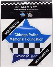"Chicago Police Memorial Foundation Star Magnet 8"""