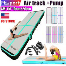 Fbsport 4m 16ft Air Track Inflatable Gymnastics Yoga Tumbling Mat Gym with Pump