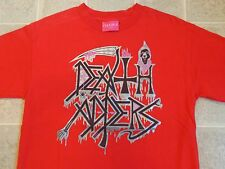 MISHKA Death Adders Band Parody T-SHIRT Mens M Metal Silver Shiny Print OOP Rare