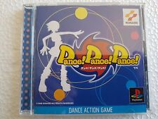 PSX SONY PLAYSTATION JAP NTSC DANCE! DANCE! DANCE! - KONAMI - NO SPINE