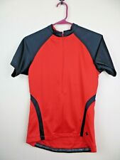 Womens Specialized Cascade Cycling Jersey Top Size Medium M Red half zip short s