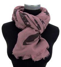 Gestreifte Damen-Schals mit Sterne