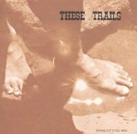 THESE TRAILS - These Trails - RARE 2011 USA Drag City 12-track PROMO CD album