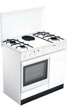 Cucina a Gas 4 Fuochi 1 Piastra Bompani Forno Elettrico Grill 90x60 cm BI940EA/L