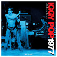 Iggy Pop With David Bowie - 1977 (180g Red Vinyl LP) NEW/SEALED