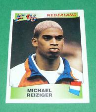 N°78 MICHAEL REIZIGER NEDERLAND PANINI FOOTBALL UEFA EURO 96 EUROPE EUROPA 1996