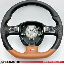 Mise au Point S-LINE Volant Multifonctions et Brun-Noir Audi A3 q5 8r A5 8f
