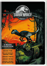 Jurassic World : 5-Movie Collection (DVD, 5-Disc Set) New & Sealed SHIPS FAST!!!