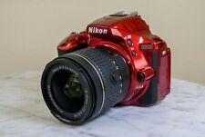 Nikon D5500 24.2MP DSLR Camera w/AF-P 18-55mm f/3.5-5.6 G VR Lens