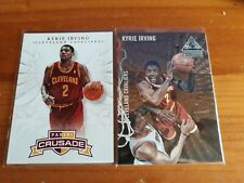 Kyrie Irving Rookie Lot 2012-13 Crusade Wings RC & Paramount Bronze #'d /50 RARE