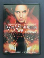 DVD V DE VENDETTA Natalie Portman Hugo Weaving Stephen Rea JAMES Mc TEIGUE