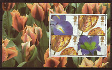 Francobolli inglesi usati, tema fiori