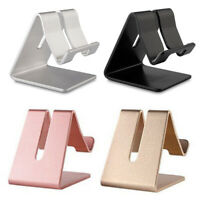 Universal Aluminum Metal Phone Holder Desk Stand For Samsung IPhone XR Max New X