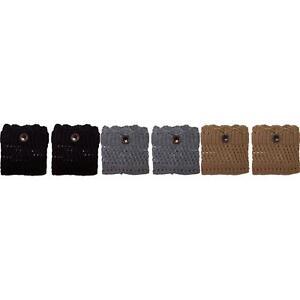 new Threads Co Crochet Boot Cuffs. 2005