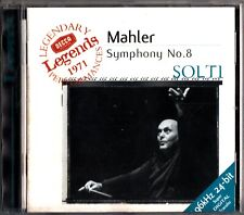 Mahler: Symphony 8 CD-Georg Solti (Decca SET 534-5 1971/Re-Issue) Heather Harper
