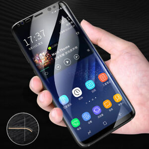 For Samsung Galaxy S9 8 Plus A8 9 J7 Accessory Full Curved Screen Protector Film
