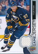 2014/15 Upper Deck Series One GJ-TM Tyler Myers UD Game Jersey Insert Card