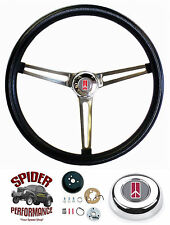 "1964-1966 Cutlass 442 F85 steering wheel 15"" Muscle Car Stainless Grant"