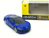 Honda NSX Blue Diecast Car Scale 1/64 (Approx 2.5 inches) RMZ City