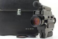 【MINT / Case】 Elmo Super 8 Sound 6000AF MACRO Movie Camera From JAPAN #116