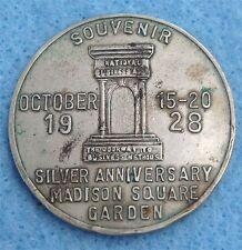 Madison Square Garden Copper/Nickel Souvenir Token in Circulated Condition