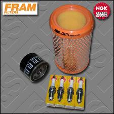 Kit DE SERVICIO Renault Clio MK2 1.2 8V FRAM ACEITE TAPONES de filtros de aire (2003-2005)