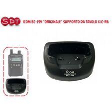 """ICOM BC-194 """"ORIGINALE"""" SUPPORTO DA TAVOLO X IC-R6"""
