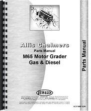 Allis Chalmers M-65 Diesel Motor Grader Parts Manual