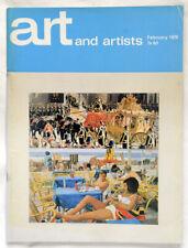Vintage Art and Artists magazine 1970 Malcom Morley Rodin Canogar Realism