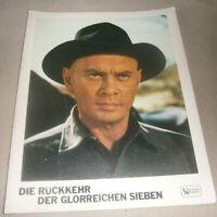AHF,Portrait ,DIE RÜCKKEHR DER GLORREICHEN SIEBEN ,  Yul Brynner,Western