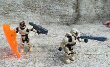 Halo Mega Bloks Set #CNK25 UNSC Fireteam Rhino Figure #1 & 4