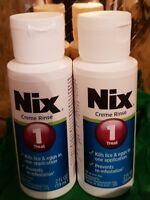 NIX FAMILY PACK LICE KILLING CREME RINSE - 2CT No box