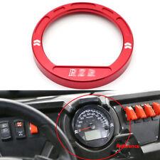 Billet Aluminum Speedometer Guage Bezel For Polaris RZR 570 RZR800 900 1000 -RED