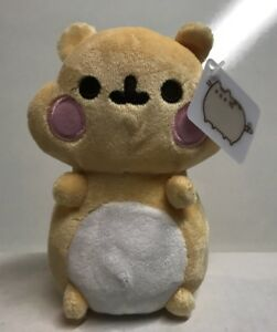 """Gund Stuffed Pastel Pusheen 5"""" Cheek Hamster, New With Tag"""