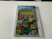DOCTOR STRANGE 16 CGC 9.6 WHITE PAGES THE DEVIL AND THE DEAD MARVEL COMICS 1976