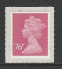 GB 2011 Machin Definitive SA 76p bright rose SG U2927 M11L MNH (sheet)
