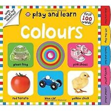 COLOURS Play and Learn / ROGER PRIDDY 9781783410583